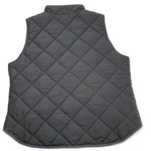 J. Crew Jackets & Coats - NWT J Crew Quilted Puffer Vest SZ L Black